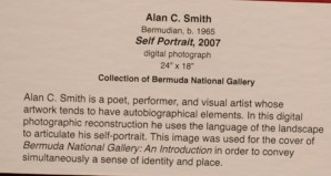 Alan C Smith Self Portrait Bermuda Travel Xena 2