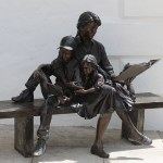 Bronze Sculpture in front of Bermuda National Gallery 1