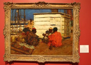 Sir Frank Brangwyn Zanquabar Zanzibar 1891 Bermuda National Gallery Travel Xena 2