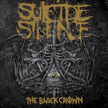 Suicide Silence The Black Crown cover art Suicide Silence The Black Crown Cover Art
