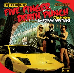 Review   Five Finger Death Punch American Capitalist