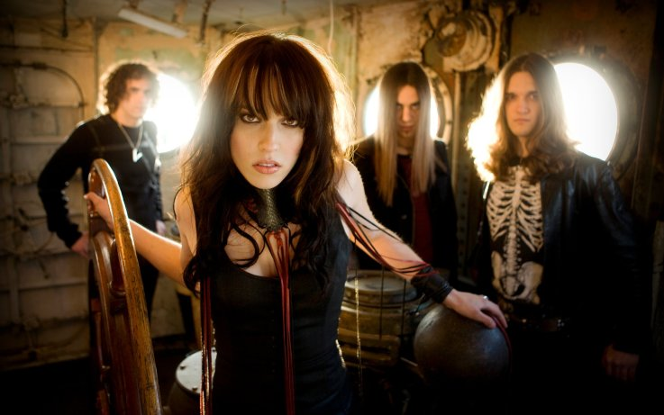 "Halestorm Halestorm ""Here's To Us"" Music Video"