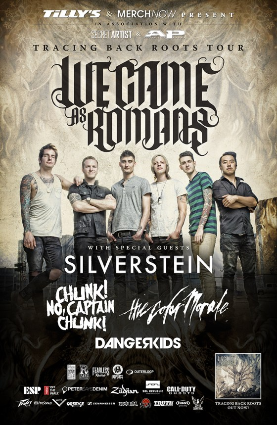 We Came As Romans Announce Headlining Tour With Silverstein The Color Morale We Came As Romans Announce Headlining Tour With Silverstein, The Color Morale