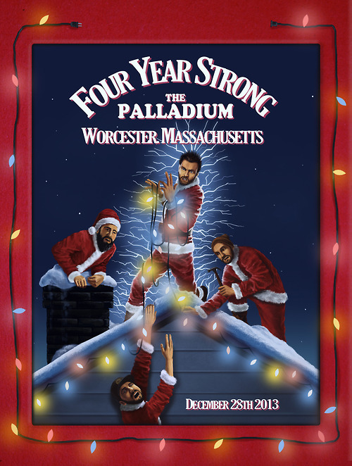 Four Year Strong Announce Annual Holiday Show Four Year Strong Announce Annual Holiday Show