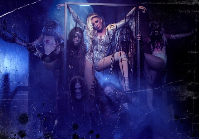 In This Moment e1415247292436 In This Moment Stream New Song Sex Metal Barbie