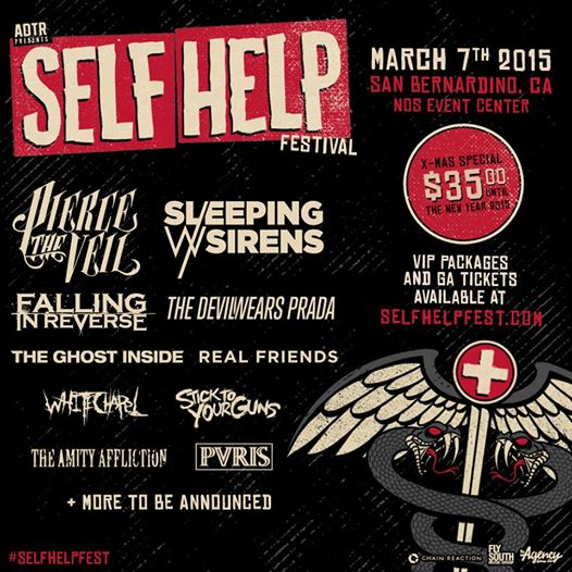 A Day To Remember Announce Self Help Fest With Pierce The Veil, Falling In Reverse