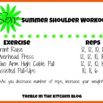 Sexy Summer Shoulder Workout