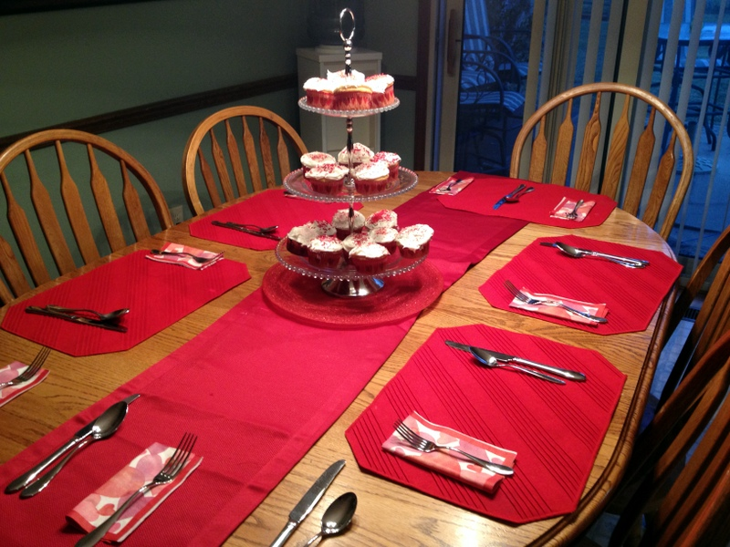 vday table