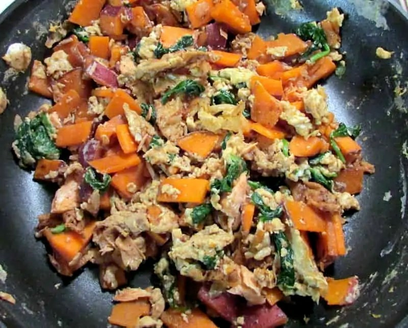sweet potato scramble 2