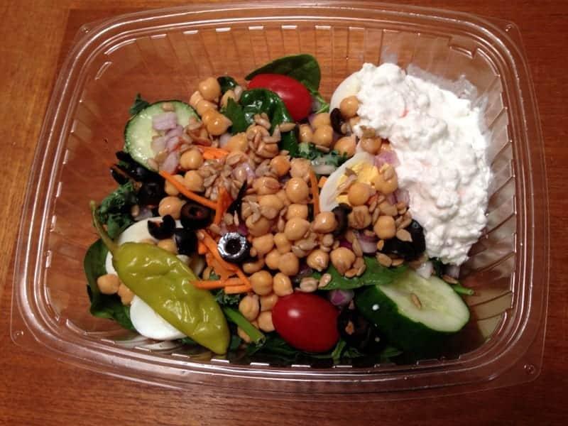 dinner salad bar