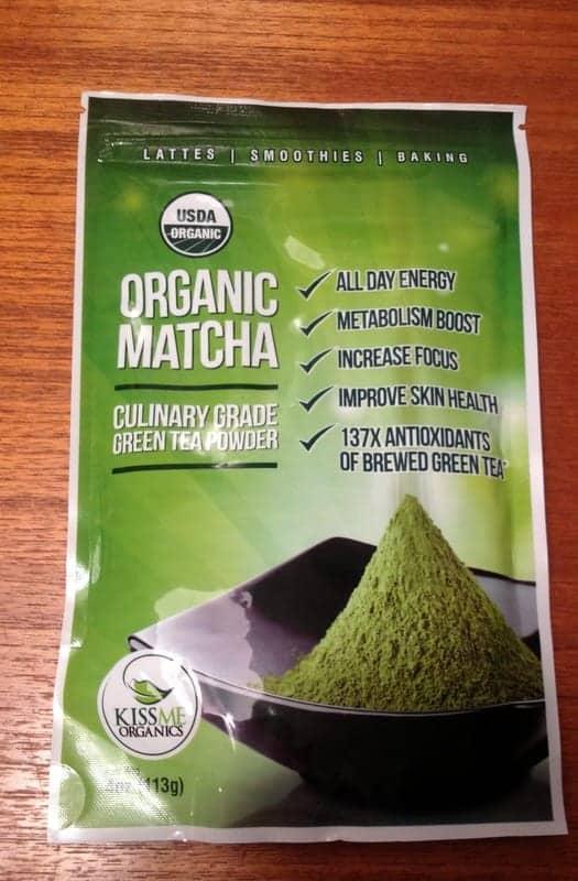 kiss me organics matcha powder
