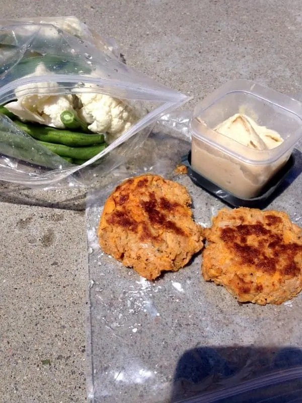 lunch salmon cakes