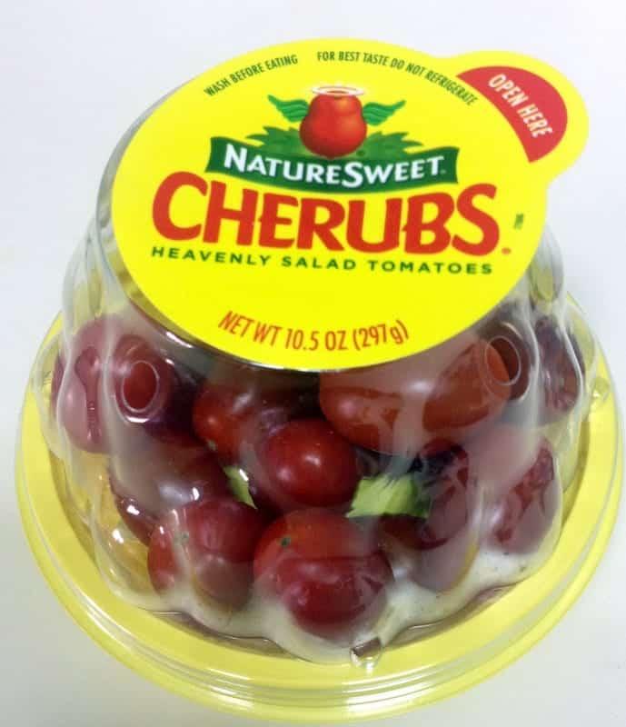 cherub tomatoes snack