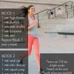 Cardio HIIT Workout + Songza