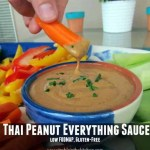Thai Peanut Everything Sauce via Treble in the Kitchen
