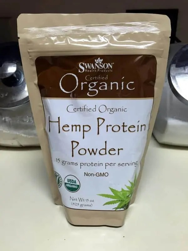 hemp protein   treble in the kitchen