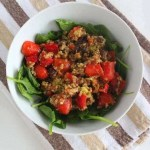 Quinoa Taco Salad | Treble in the Kitchen