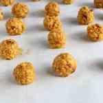 Pumpkin Pecan Snack Bites