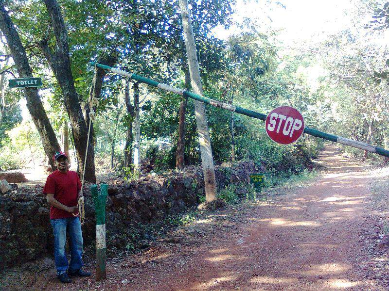 Phansad Wildlife Sanctuary - Entrance