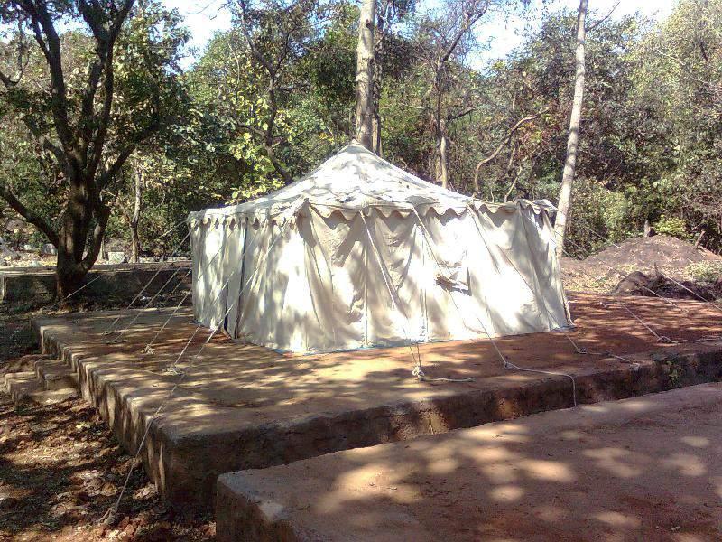 tent accomodation at Phansad forst