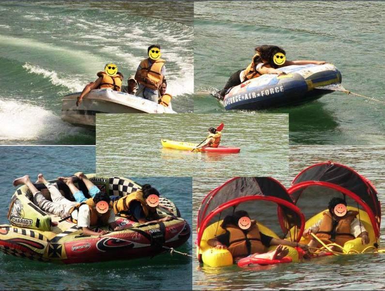 water rides at Panshet