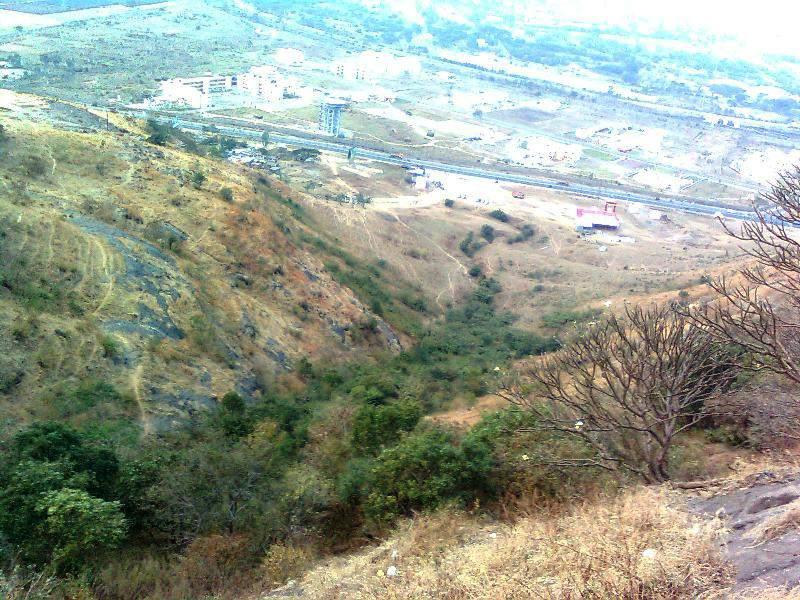 Ghoradewhwar - view from temple top