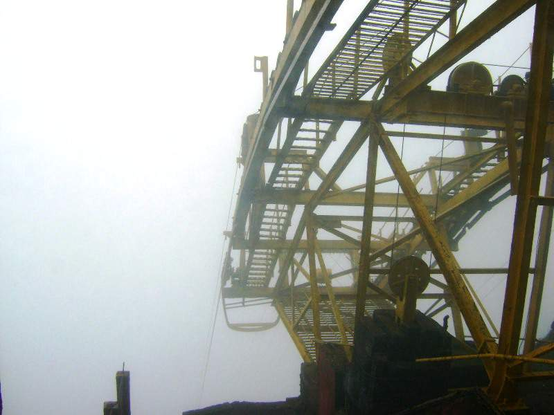 raigad ropeway the dive in