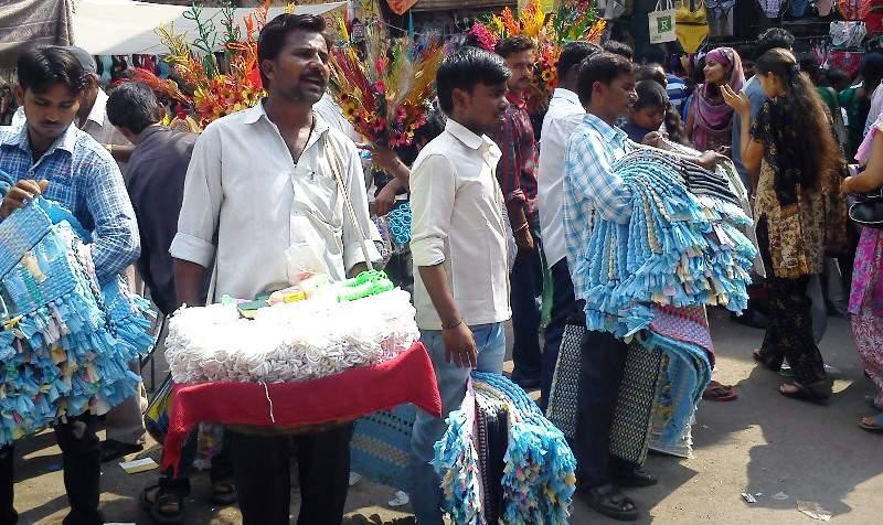seller of floor mat at tulsi baug