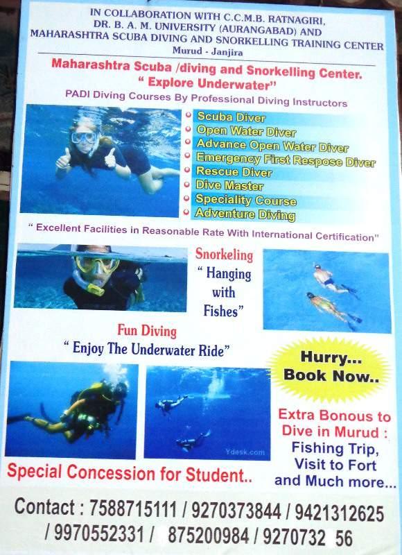 murud scuba diving fishing