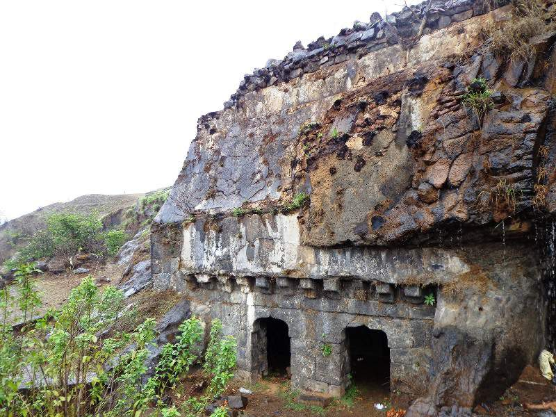 Fort Visapur - on the way down