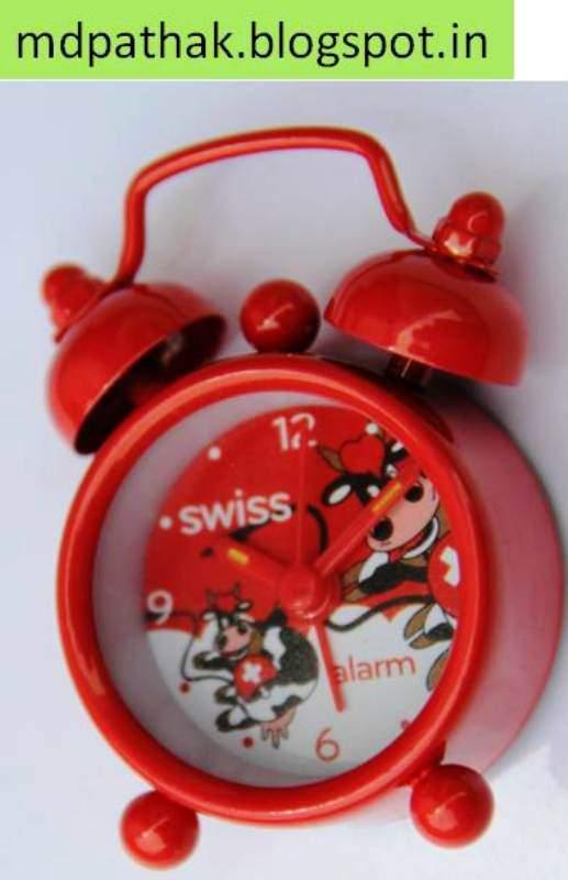 Switzerland souvenirs alarm watches