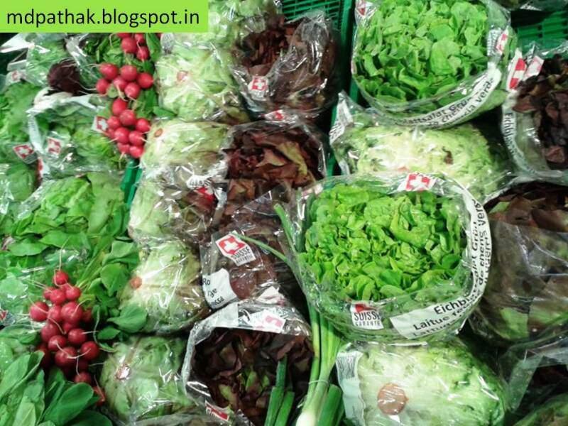 Switzerland vegetables