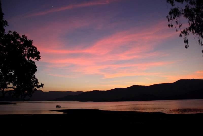 sunset at vasota Bamnoli