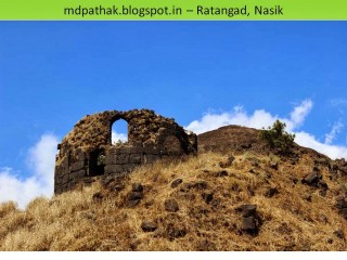remains on fort ratangad