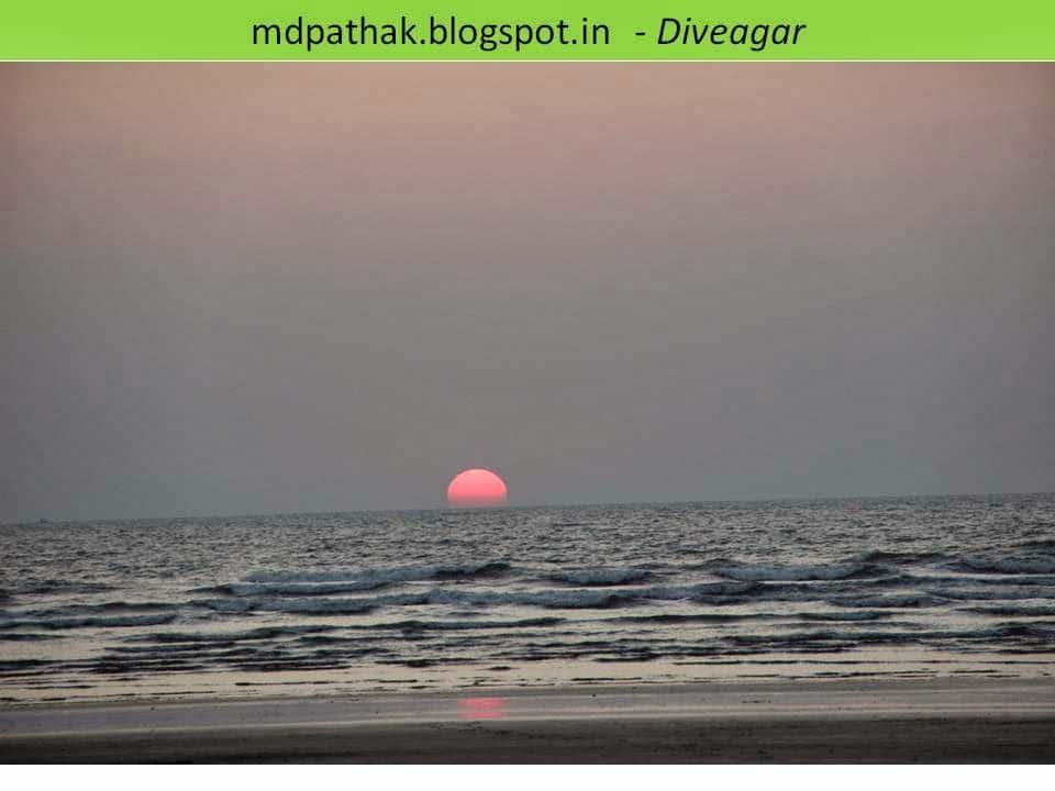 stunning sunset konkan sea beach