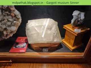 calcite found at Nasik, Maharashtra