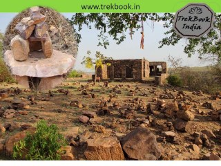 houses built on fort ranthambore