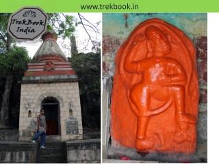 hanuman temple at Kalyangad Fort, Nandgiri Village, Satara