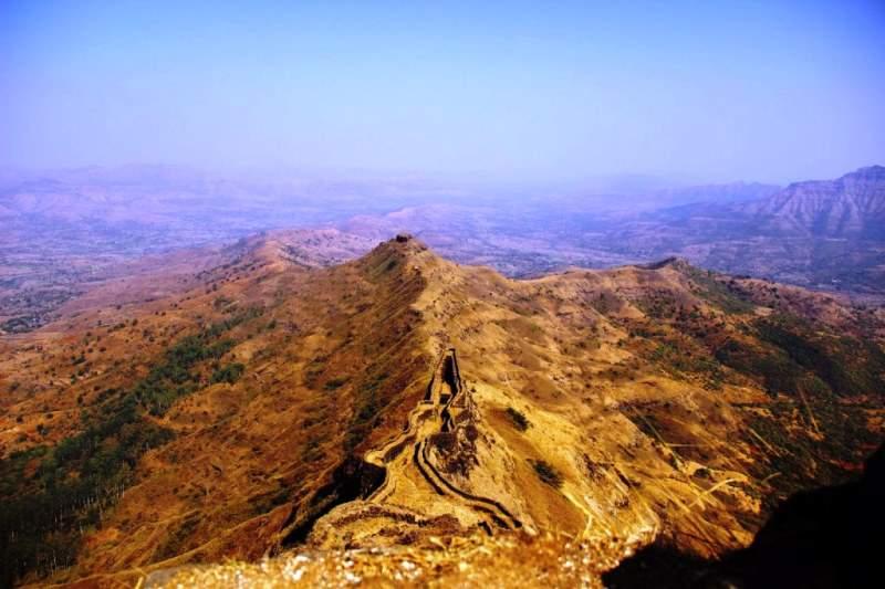 Zunjar machi view from fort torna