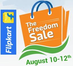 flipkart freedom sale
