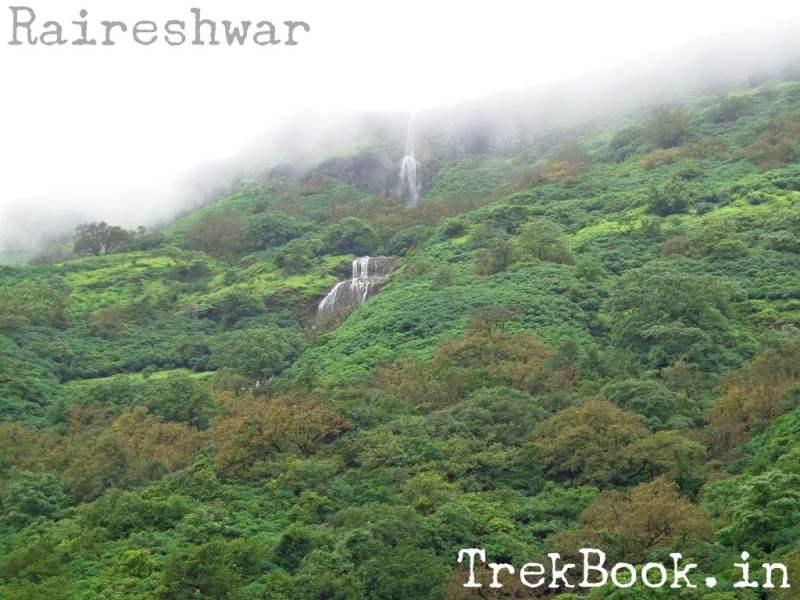 Korle to Raireshwar - Multi fold Waterfalls
