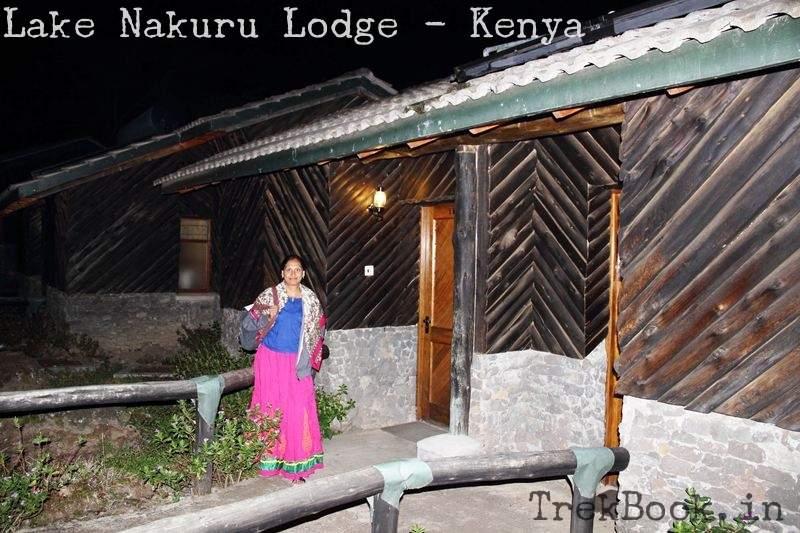 outside my room at lake nakuru lodge