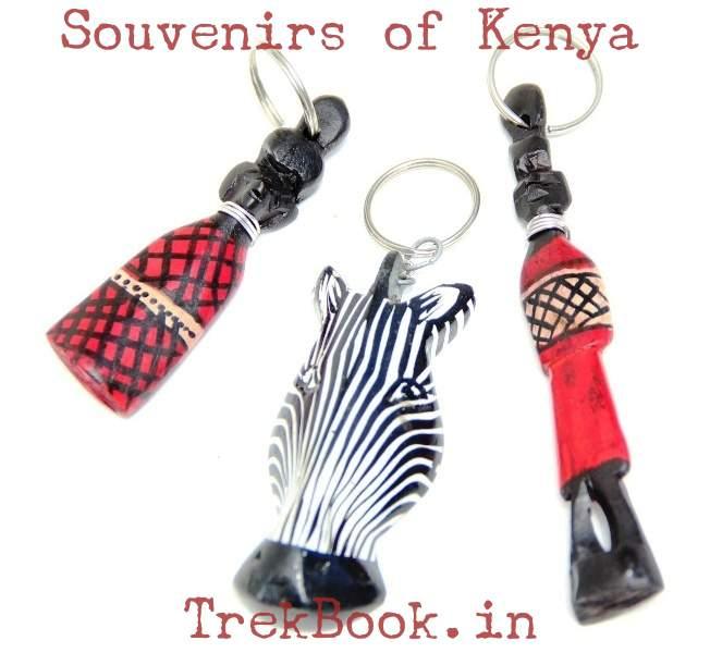 souvenir kenya key chains