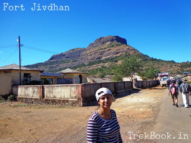 ghatghar village foot of fort jivdhan