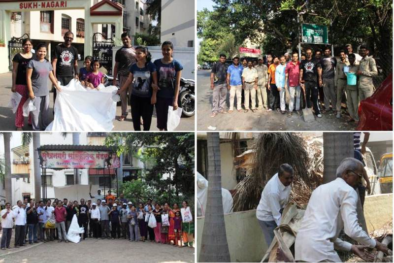 cleanmyindia fona team working
