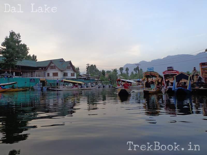 floating shops dal lake srinagar