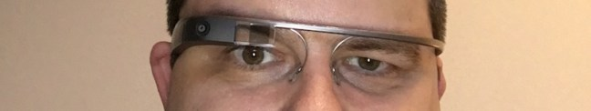 Google Glass en mi cara