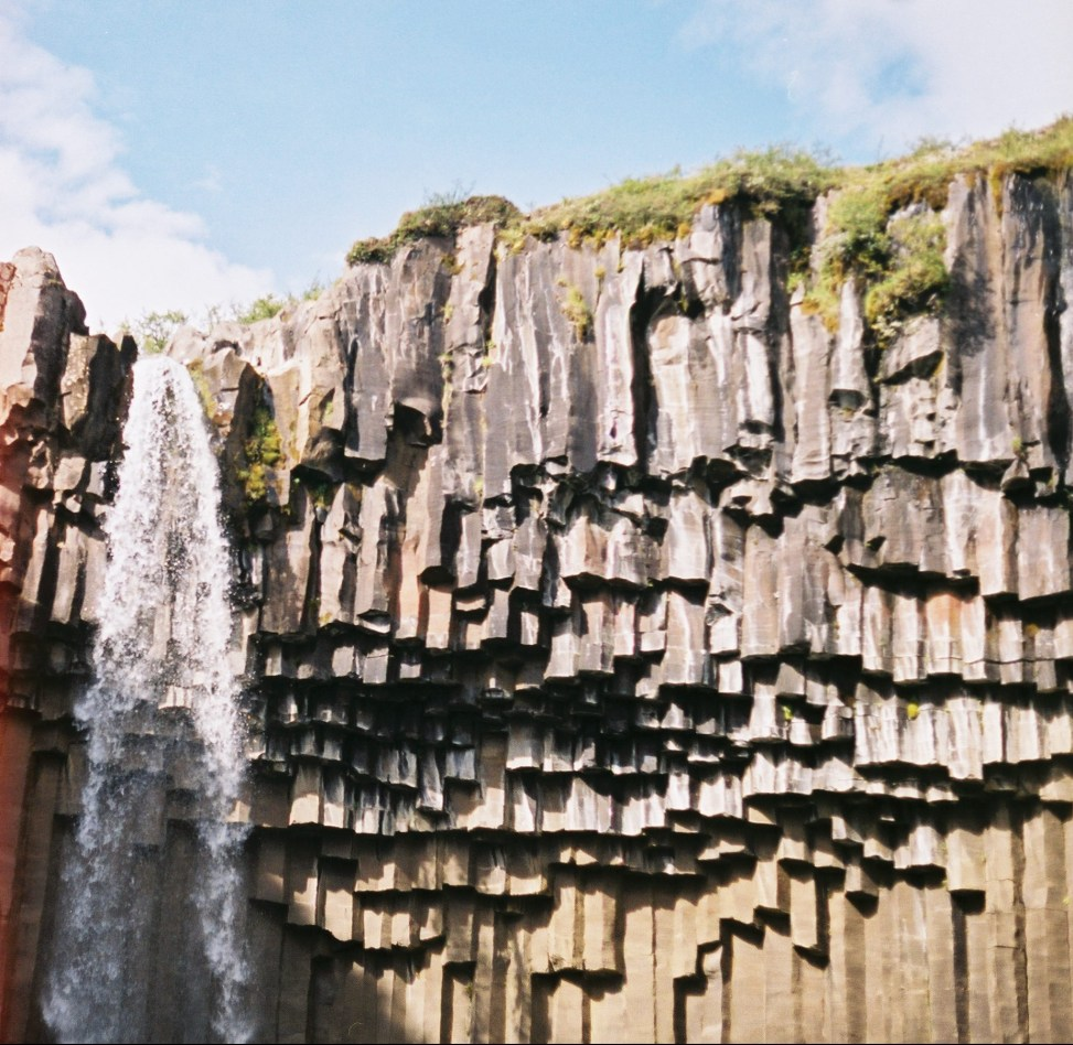 Svartifoss, or Black Waterfall