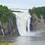 1st Anniversary at Montmorency Falls