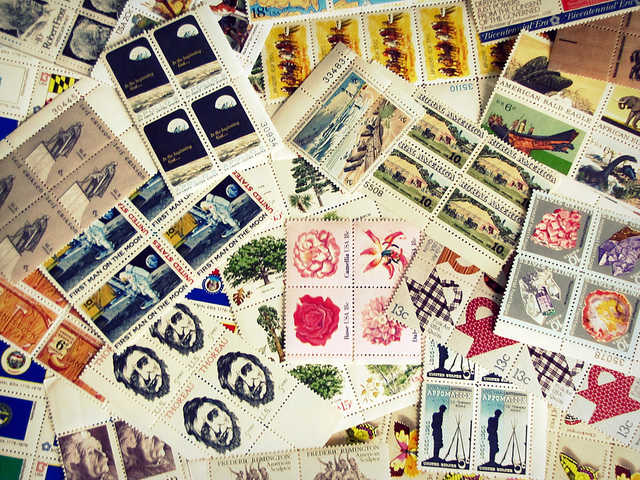 Stamps (Sarah Altendorf/flickr)